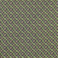 PAOLO ALBIZZATI Mens Green Navy INTERLOCKING RINGS Handmade 7-FOLD Silk Tie NWOT