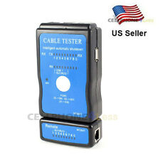 RJ45 RJ11 Printer USB LAN Network Cable Tester
