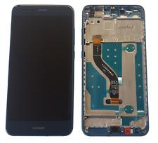 Huawei P10 Lite Display LCD Touchscreen Glas Displayeinheit Rahmen Blau