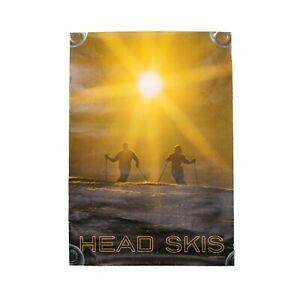 Vintage Head Skis Poster Original John G Zimmerman Photo Vtg Ski Photo