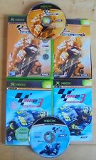 MotoGP 2 & 3 Original Microsoft  Xbox Game Bundle Complete Tested PAL VGC
