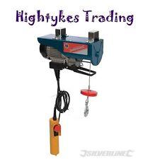 500W Electric Lifting Winch Hoist 250kg Scaffold Mounted for Workshop Garage New