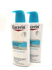 Eucerin Intensive Repair Enriched Lotion VERY DRY SKIN 16.9 oz EA - Lot of 2