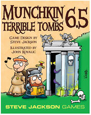 Munchkin 6.5: Terrible Tombs Card Game Expansion Steve Jackson Games SJG 1541