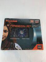 Diamond Radeon R7 250, GDDR5 1gb memory DirectX 11.2 Open GL 4.3 CO