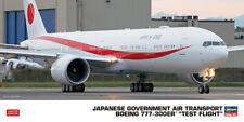 Hasegawa 10824 - 1/200 Boeing 777-300, Japanesegovernment Air Transport - New