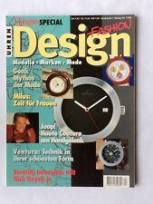 Chronos ZeitschriftSpecial FASHION & DESIGN Oktober 1996