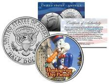 BUGS BUNNY 1989 BALLOON NYC Thanksgiving Day Parade Genuine JFK U.S. Half Dollar