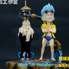 One Piece Child Franky Statue Resin Figurine POP Scale Model GK Collections 1/8