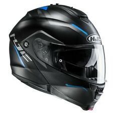 CASCO HJC IS-MAX II DOVA MC2SF color: negro / Azul gr: S (55)