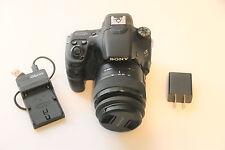 Sony Alpha SLT-A58 20.4 MP DSLR with 18-55mm Lens.  (A004)