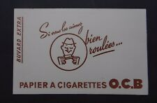 BUVARD papier à cigarettes OCB Savignac Bolloré blotter Löscher