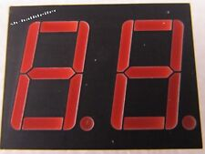 10 Stück - LTD6710R - LITEON - 2 Digit 14,2mm LED 7-Segment Anzeige ROT - 10pcs
