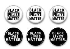 Black Lives Matter Pinback Button6 pack