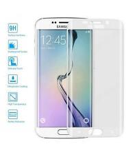 Protector de Cristal Templado Completo para Samsung Galaxy S6 Edge Elige Color