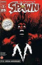 Comics Français DELCOURT Les Chroniques de  Spawn    N°  25 + poster   sep26