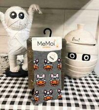 MeMoi French Bulldog Halloween socks 2 pairs size 9-11
