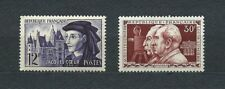 FRANCE - 1955 YT 1033 à 1034 - TIMBRES NEUFS** MNH LUXE