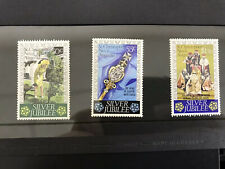St Kitts - Nevis 1977 Silver Jubilee SG 367/9 MNH Stamps
