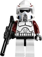LEGO STAR WARS ARF ELITE CLONE TROOPER FIGURE + GIFT - FAST - 9488 - 2012 - NEW