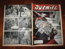 """FOTOROMANZO """"DUEMILA"""" SETTIMANALE DI AVVENTURE NUMERO 43 DEL 28 OTTOBRE 1951"""