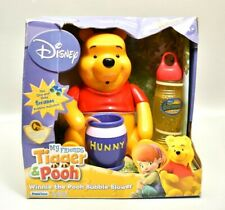 Disney Winnie The Pooh Electronic Bubble Blower Rare Toy Vintage