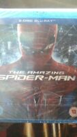 The Amazing Spider-Man Blu-ray (2012) Emma Stone  -  2 disc BRAND NEW and SEALED