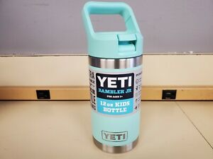 YETI Rambler Jr. 12 oz. Kids Bottle Seafoam New READ