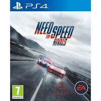 NEED FOR SPEED RIVALS - PLAYSTATION PS4 MINT- Same Day Dispatch* FAST DELIVERY