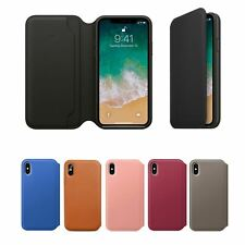 For Apple iPhone 11 Pro Max XR X 8 7 6 Se 2020 Leather Case Cover Flip Folio