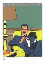 Ex-libris Offset Blake et Mortimer La Revanche de Edgar P. Jacobs Gomb-R Edition