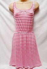 Plus Size Striped Short/Mini Tunic Dresses for Women