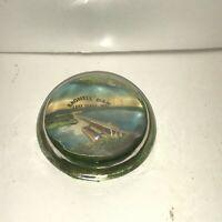 Vintage BAGNELL DAM Lake Ozark MO Souvenir Paperweight