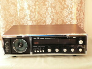 JVC 4VR5406-CD4 FM/AM + 4 CHANNEL STEREO RECEIVER SUPER NICE CLEAN WORKING GOOD