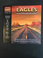 EAGLES You Can Never Leave Live At Burbank Vinyl LP Ltd Clear CRLVNY027 Last Few
