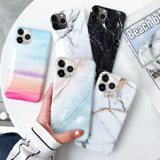 For iPhone 11 Pro Max XS XR 8 7 6 Retro Granite Marble Phone Case Soft TPU Cover