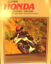1984-1988 Clymer Honda Service-Repair Maintenanc 500cc V-Four