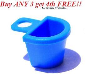 ☀️NEW Lego MINIFIGURE BLUE BASKET Belville Girl Friends Pannier Bucket Bag