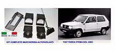 Kit casse Fiat Panda antenna impianto stereo auto mascherina audio per autoradio