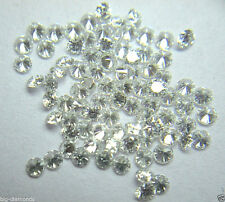 Sparkling 10 piece Lot 0.10 cts Natural White G-H Color Vs-Si Diamond