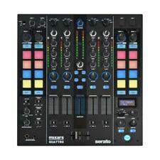 Mixars QUATTRO Mixer Serato DJ Pro con 4 Canali - Nero