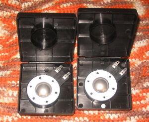New Diaphragm For Klipsch Tweeter K-76 K-79 Pair Titanium!!