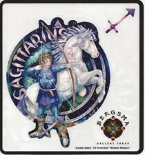 Sagittarius Zodiac Fairy Stickers Car Decals Jody Bergsma astrology sticker