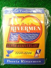 '93-94 IHL SPHL Peoria Rivermen Team Hockey Card Set St Louis Blues Rare Vintage
