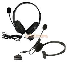 New Small + Big Live Headset with Microphone MIC for Xbox 360 Xbox360 Black
