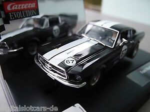 "Carrera Evolution 27451 Ford Mustang GT ""No. 67"" NEU OVP"