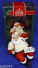 Hallmark Clip On Coke Ornament Please Pause Here 1992 Coca Cola Santa Used?