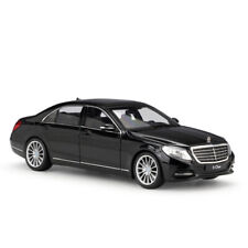 New In Box 1/24 Mercedes Benz S-Class Black Diecast Model Cars Toys By Welly