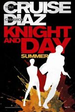 KNIGHT AND DAY MOVIE POSTER 2 Sided ORIGINAL 27x40 TOM CRUISE CAMERON DIAZ