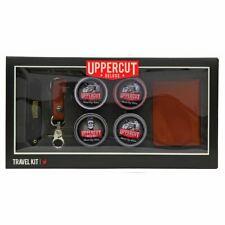 Uppercut Deluxe 6 piece Kit - Wallet, key chain & 4 styling pots UK STOCKIST